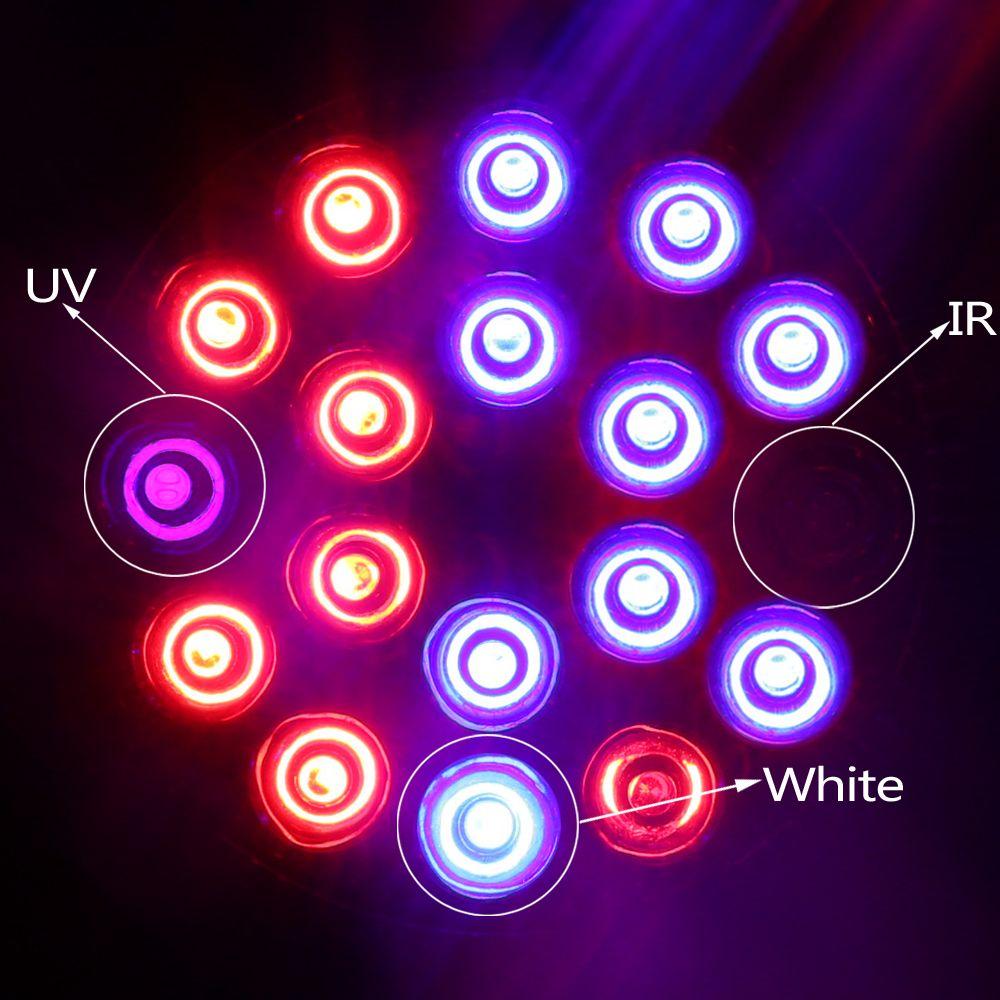 Spettro Completo Led Pianta Lampada E27 15 W 21 W 27 W 36 W 45 W 54 W  Crescere Luci Per Coltura Idroponica Sistema La Fioritura Coltivazione Di Piante  Da ...