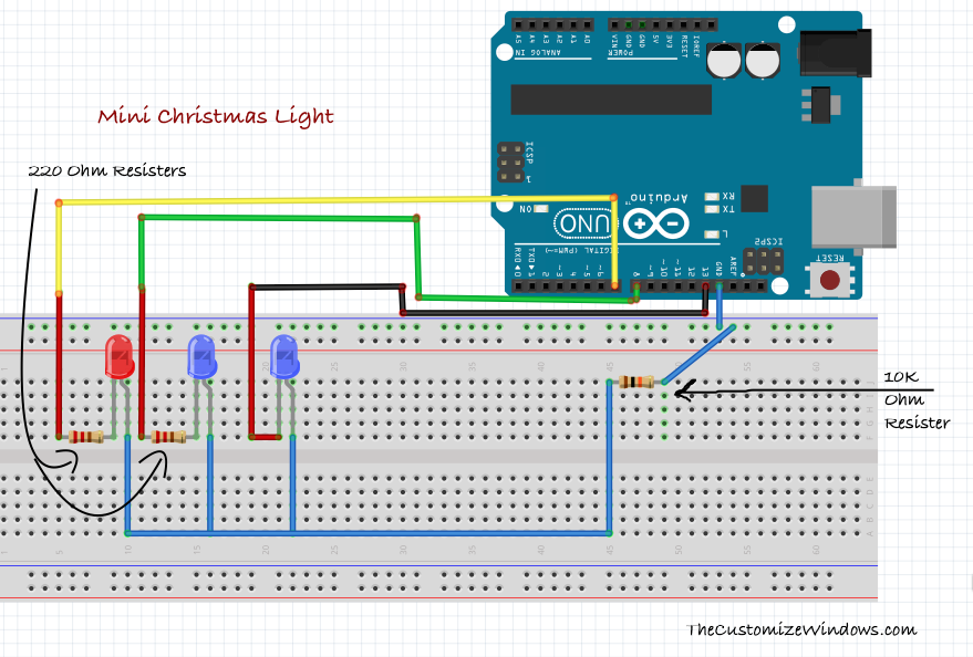 Mini Christmas Light With Arduino (Very Easy) | Pinterest | Arduino