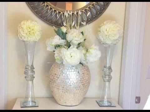 Diy Tall Glass Vases Decoration Pinterest Diy Dollar Tree And