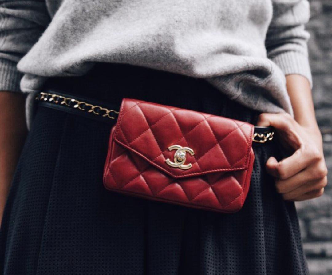 Chanel Quilted Lambskin Classic Waist Bag Cris Coco Store In 2020 Chanel Quilted Lambskin Chanel Handbags Chanel Handbags Black