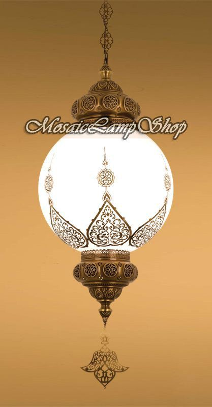 16 EXTRA LARGE OTTOMAN hanging Turkish Lamp by MosaicLampShop