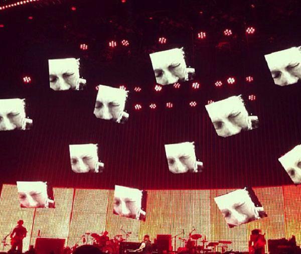 "Radiohead ""Identikit"" and ""Cut A Hole"""