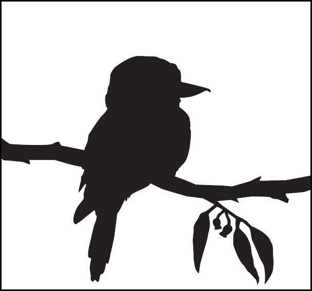 Gum Tree Black White Google Search Bird Silhouette Bird