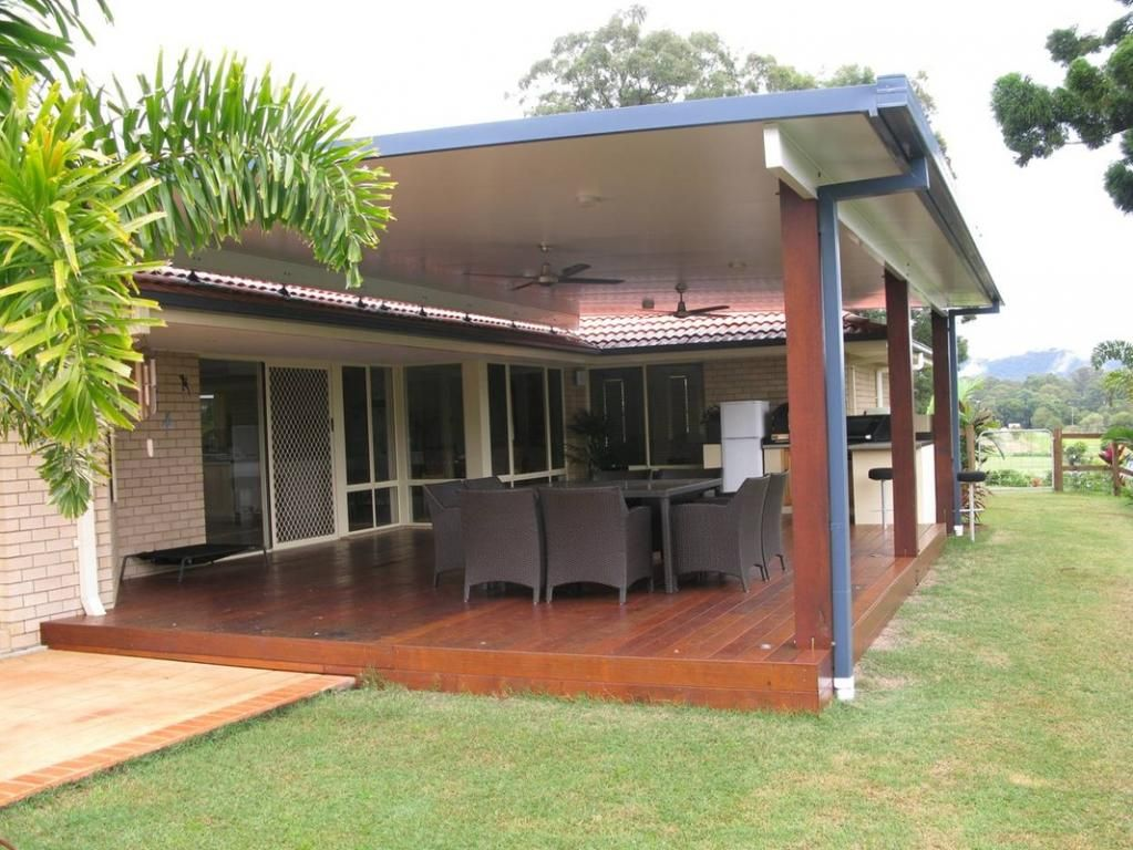 Hipages Com Au Is A Renovation Resource And Online Community With Thousands Of Home And Garden Photos Bermuda 23 Decking Patio Roof Pergola Patio Pergola