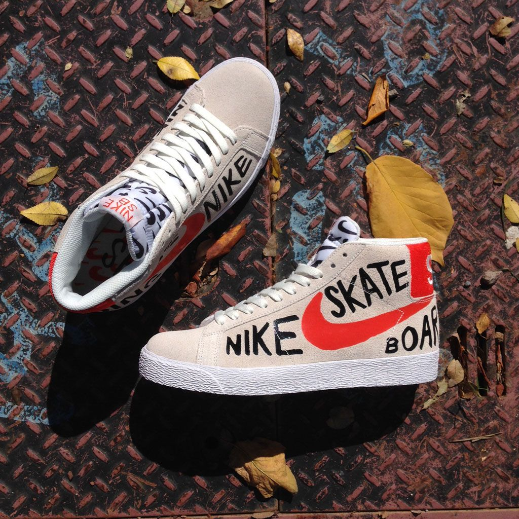 nike sb blazer high white blood cell count