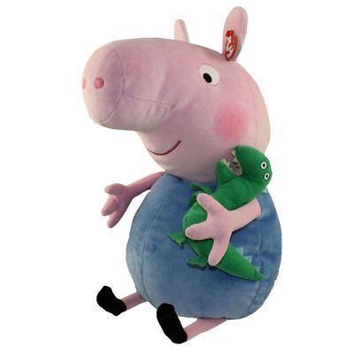 218766386ec Beanie Buddies 19206  Ty Beanie Buddy - George The Pig (Peppa Pig ...