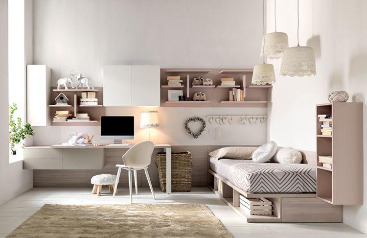 Cameretta dei bambini 70 idee moderne e originali per creare la. La Cameretta Che Vorrei Blog Arredamento Interior Design Lifestyle Fitted Bedrooms Home Girls Bedroom Sets