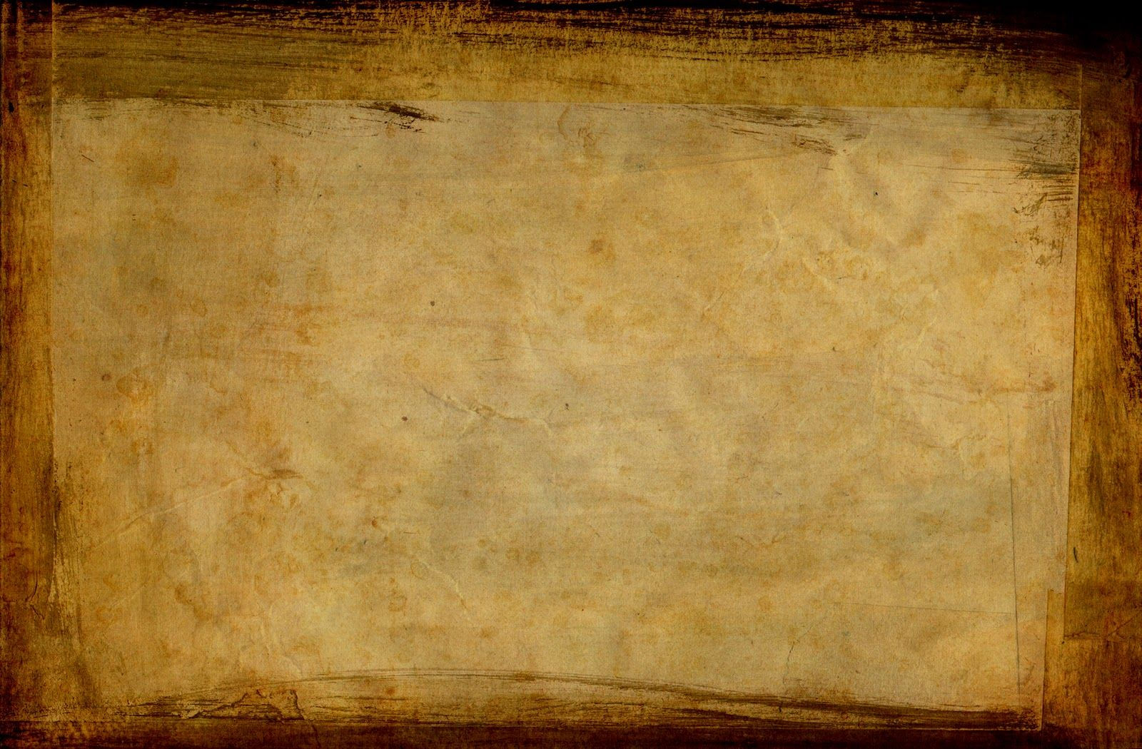 Old Style Paper Frame Backgrounds For Powerpoint Templates Paper