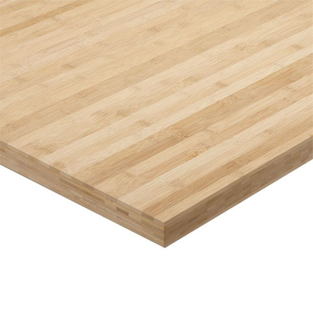 finest plan de travail bambou brut x cm p mm castorama with tablette bambou castorama. Black Bedroom Furniture Sets. Home Design Ideas