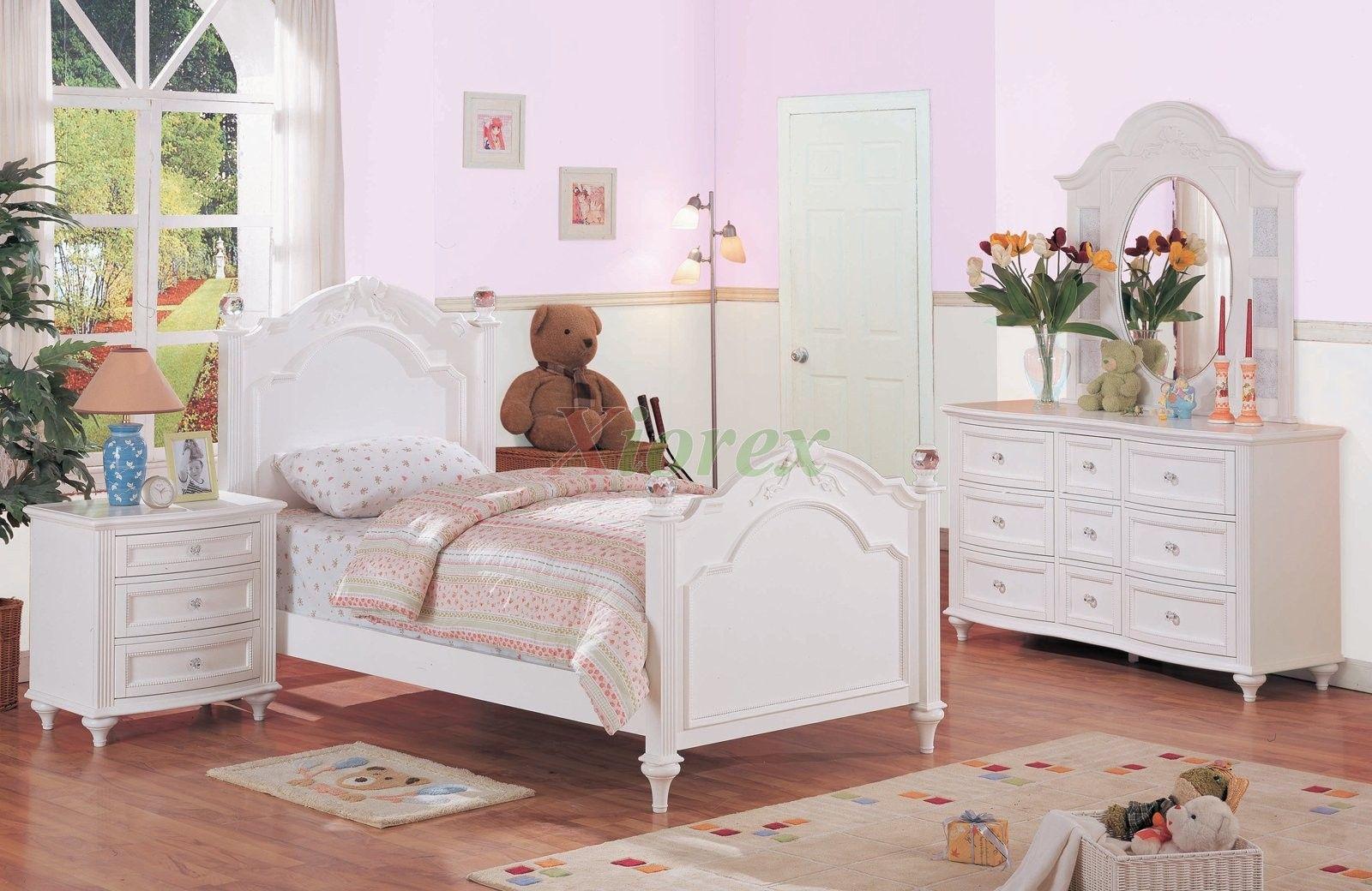 Enchanting Childrens Solid Oak Bedroom Furniture Wood Sets ...