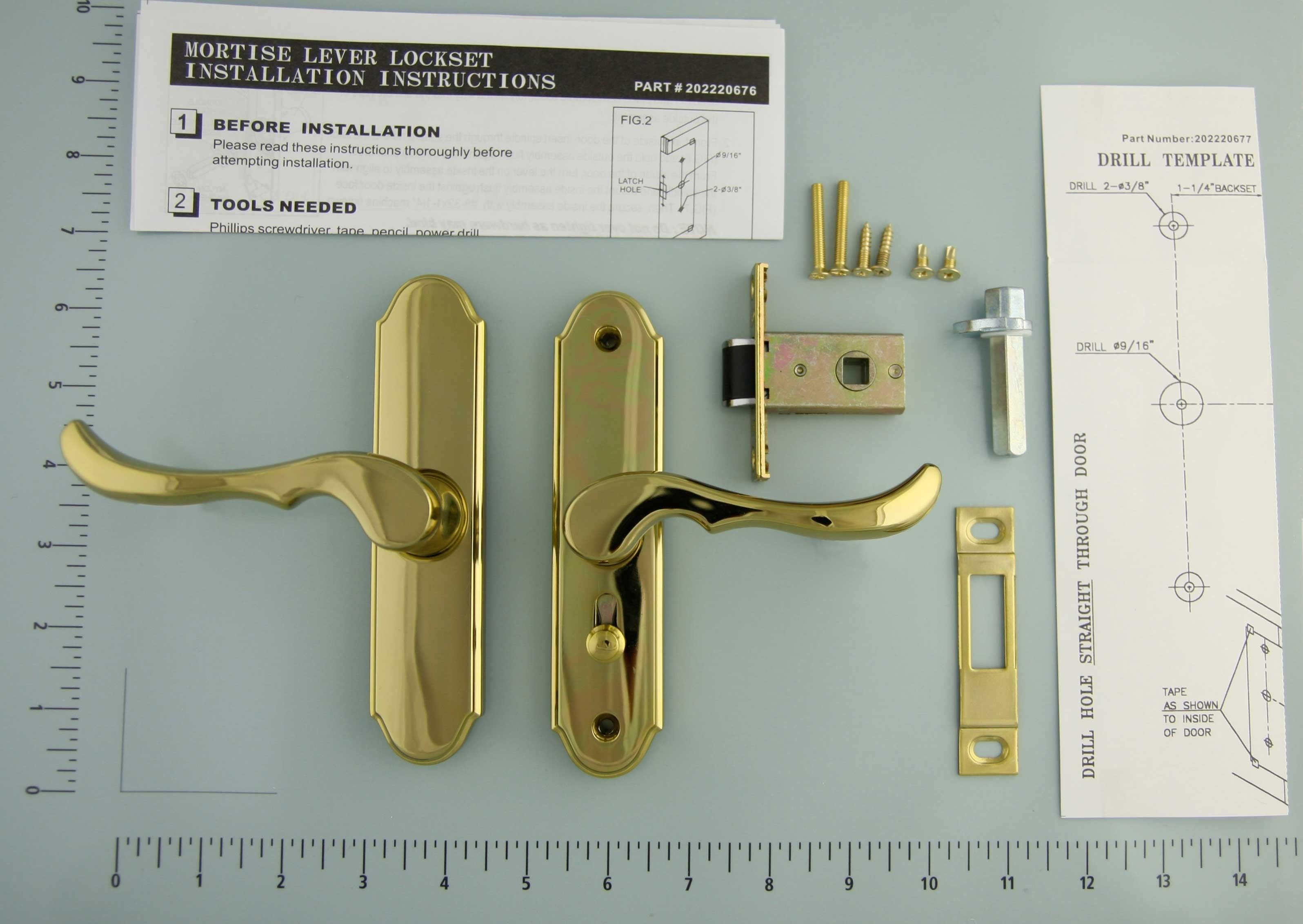 New Wright Products Storm Door Handle Installation
