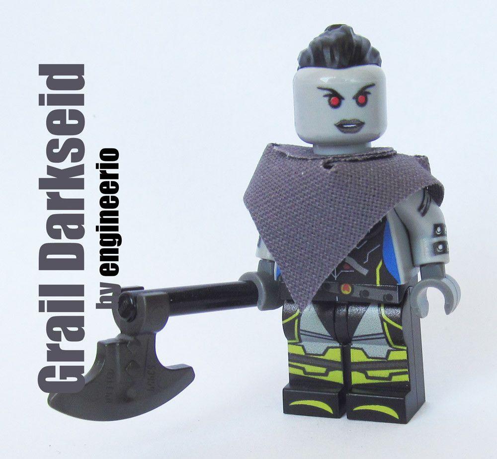 star wars anakin skywalker minifigure lego Custom PAD UV Printed BRICK