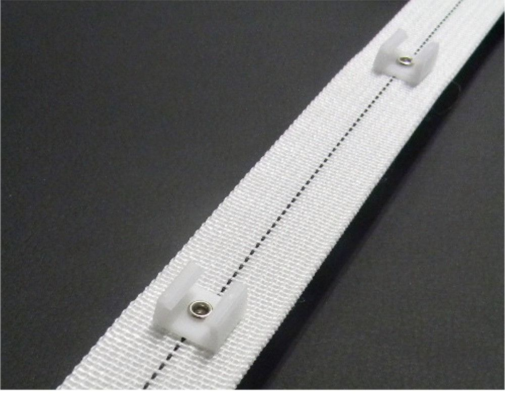 Recmar 2097 Sew In Glide Tape White Sold By The Yard No Sew Curtains Things To Sell Sewing