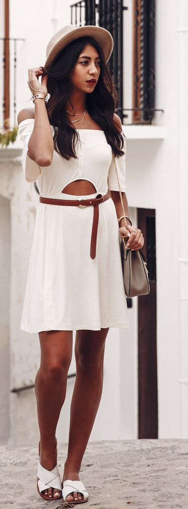 Off The Shoulder Lwd #Fashionistas