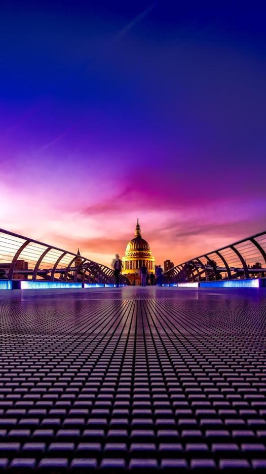 London Sunset iPhone Wallpaper Movie locations