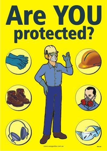 Appropriate personal protective equipment shall be provided and shall be worn where and when required.   #misarmaenterprise