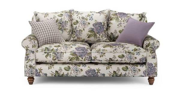 Superb Ellie Floral 2 Seater Sofa Ellie Floral Dfs Floral Sofa Customarchery Wood Chair Design Ideas Customarcherynet