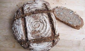 Felicity's perfect rye bread.