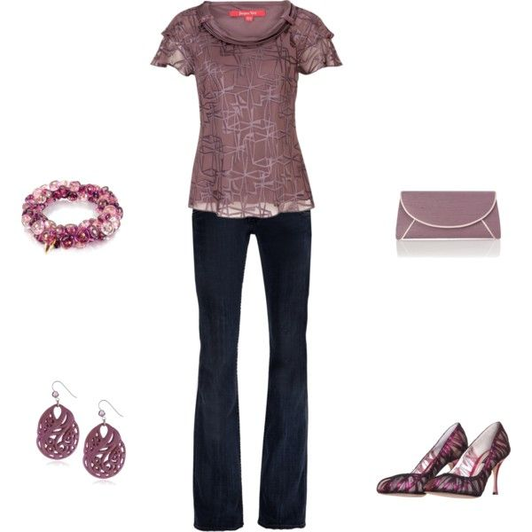 pinky lee, created by rgagliar on Polyvore