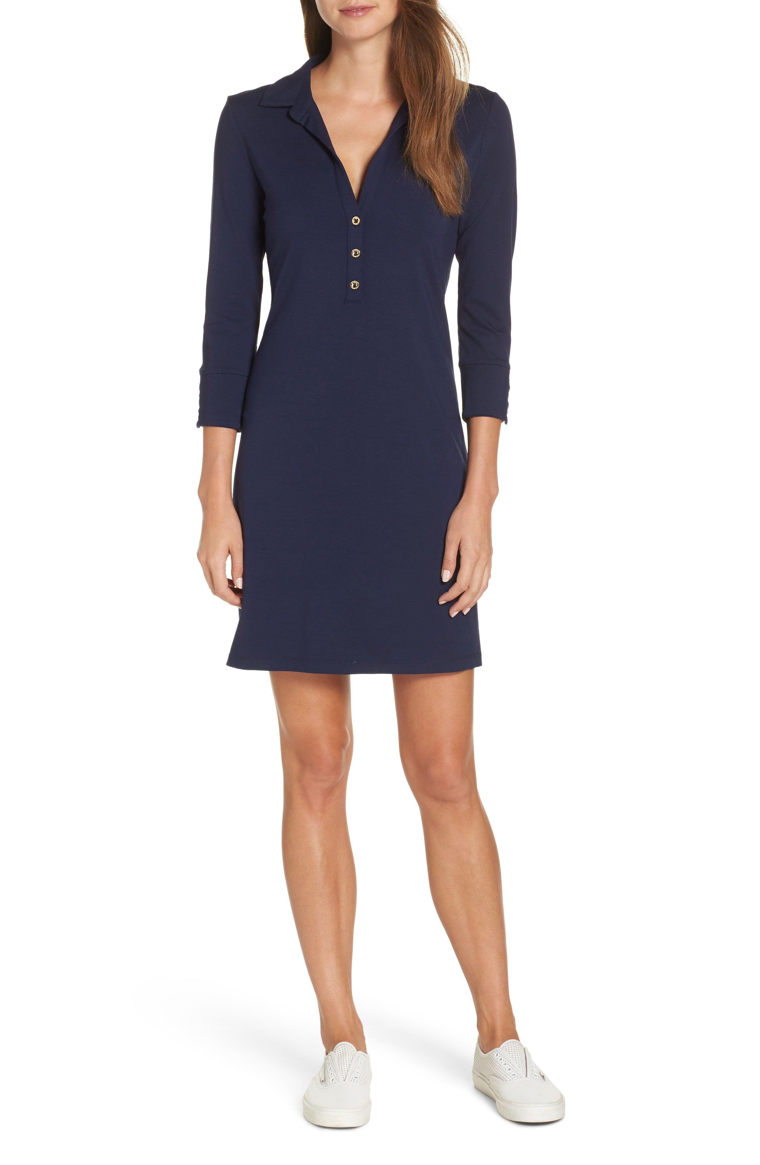 Lilly pulitzer ansley upf 50 polo shift dress fashion
