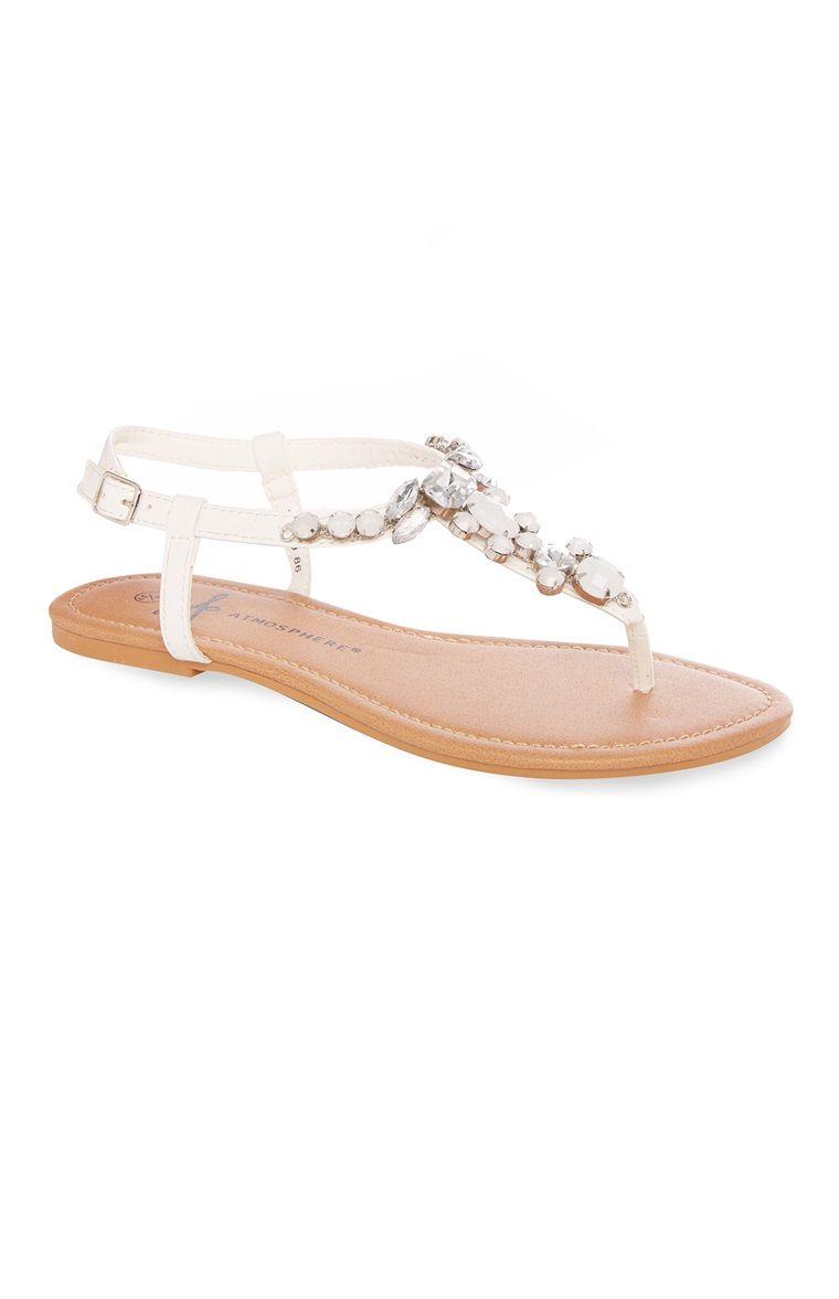 Cuir Femmes Sandales Sangle De Sandales Vero Moda 9OcV1p