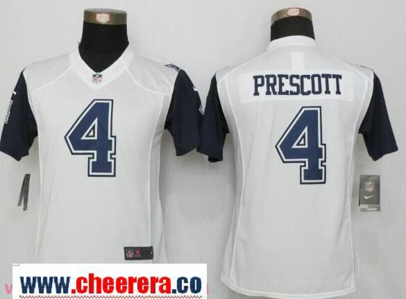 dak prescott color rush jersey