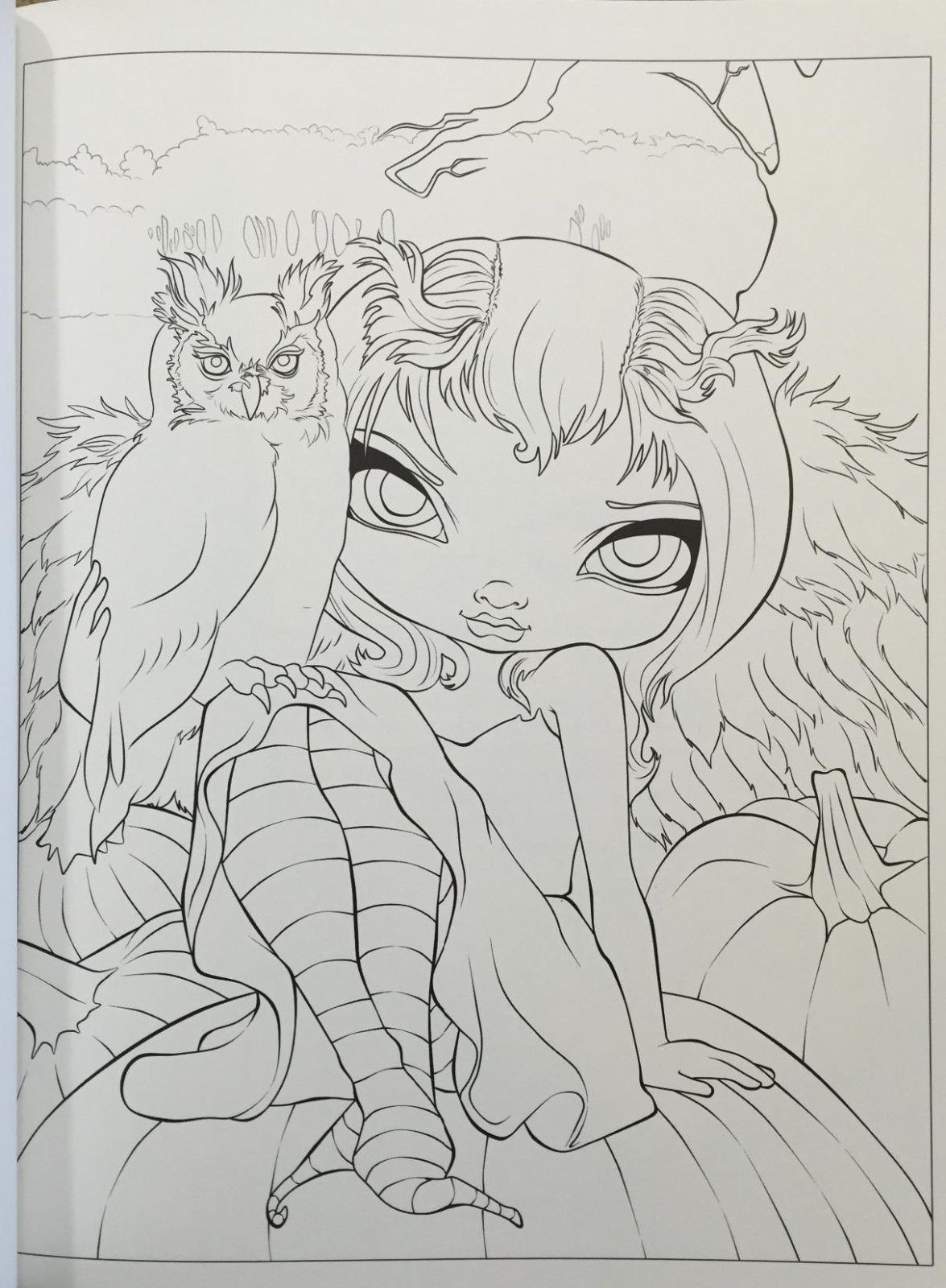 Ten Reasons Why People Like Jasmine Becket Griffith Coloring Book | Coloring books, Fairy ...