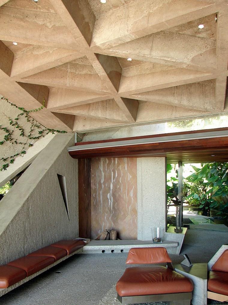Sheats-Goldstein Residenz von John Lautner John lautner - dekoration für badezimmer