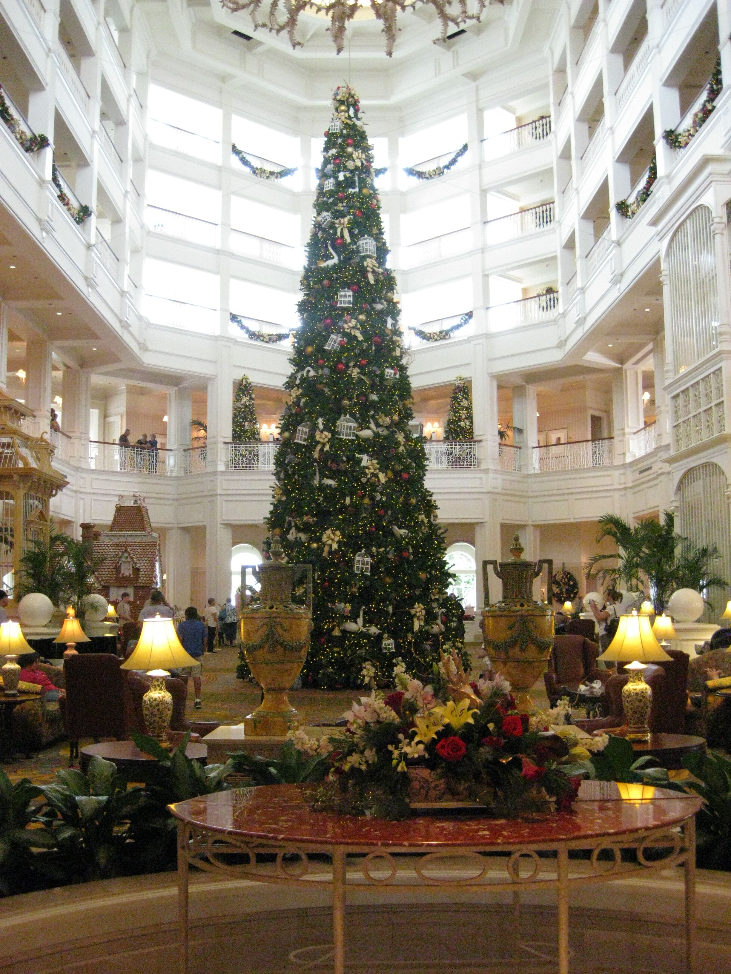 Christmas at the Grand Floridian Hotel