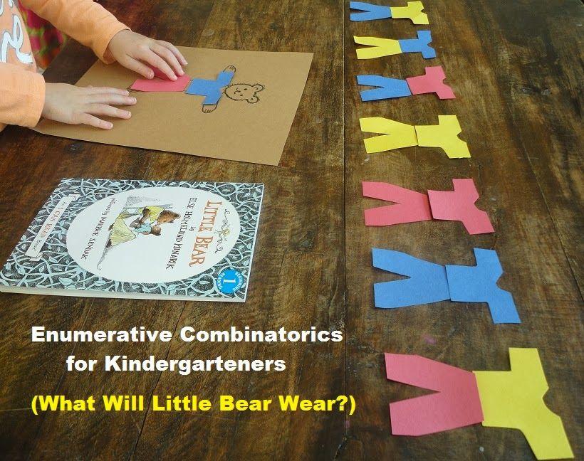 Learners in Bloom: Combinatorics in Kindergarten {What Will Little Bear Wear?}