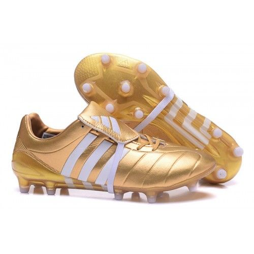 brand new 52029 86fca New Adidas Predator Mania Champagne FG Football Boots Golden White