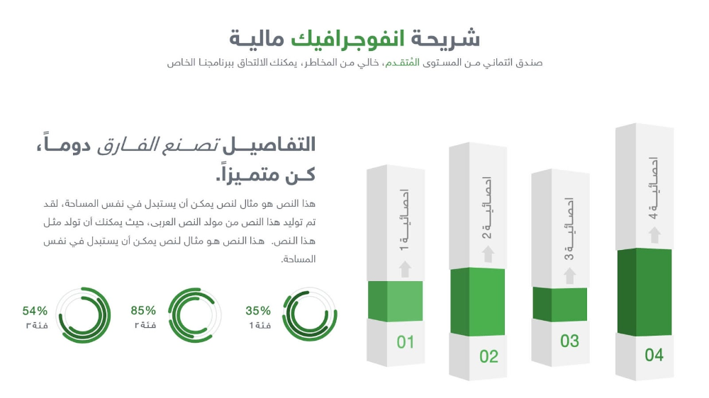 المالية قالب بوربوينت جاهز عن ادارة المال والاستثمار ادركها بوربوينت Graphic Design Cv Powerpoint Design Templates Powerpoint Design