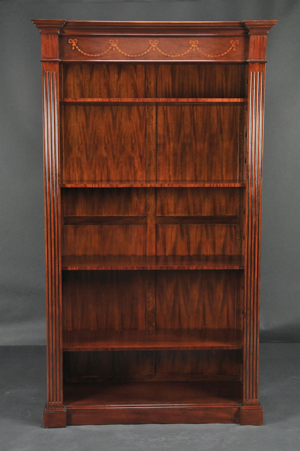 Tall Mahogany Bookcase   What I Donu0027t Have Expensive Taste.