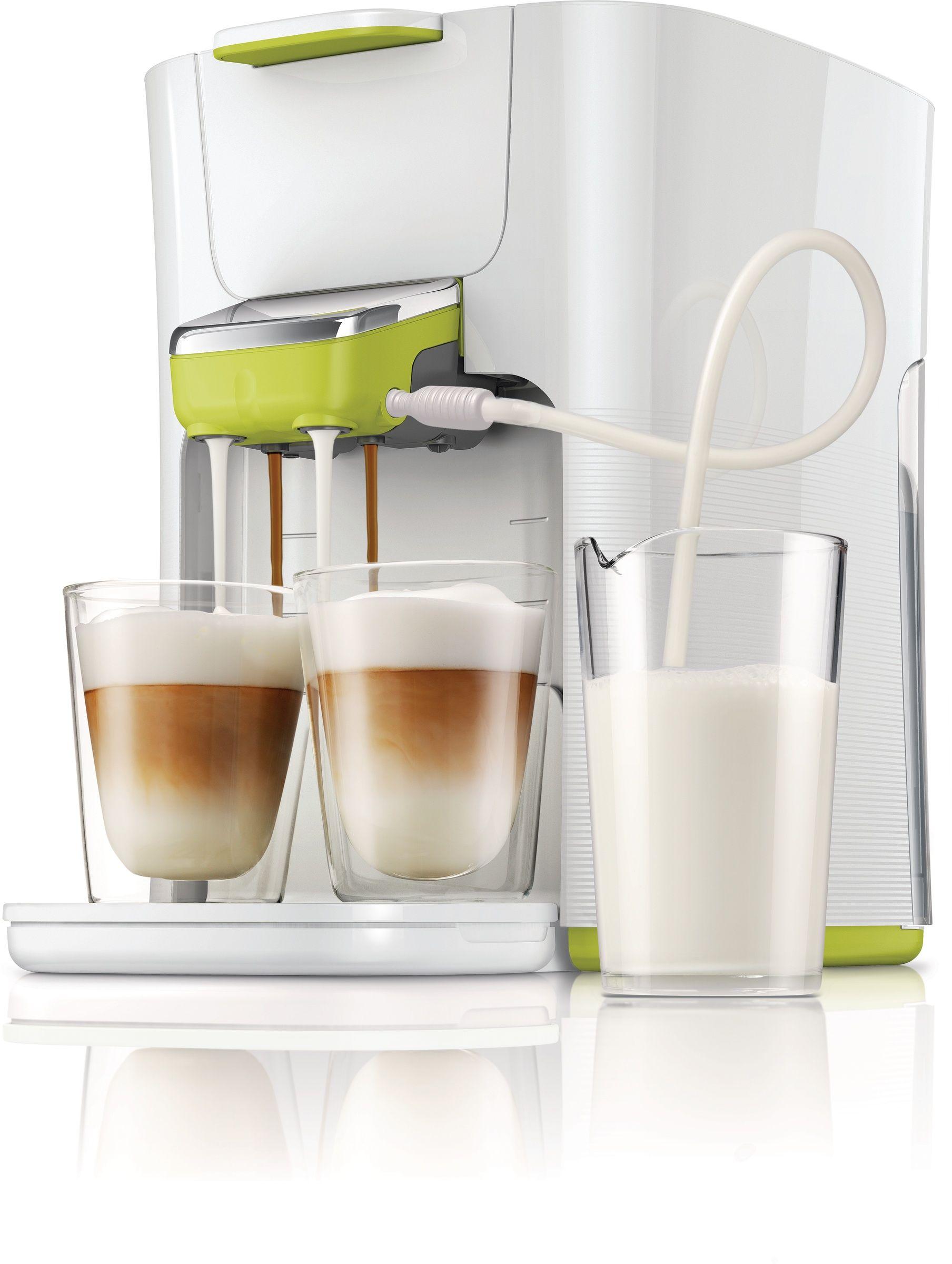 Senseo Latte Duo White Product Shot Jpg 1808 2400 Pod Coffee Machine Coffee Industrial Kitchen Design
