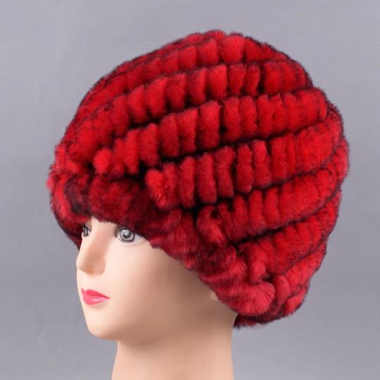 Raglaido Russian Winter Hats For Women Real Rabbit Fur Beanies 2017 Ne Modlilj Rabbit Fur Hat Winter Hats For Women Winter Hats