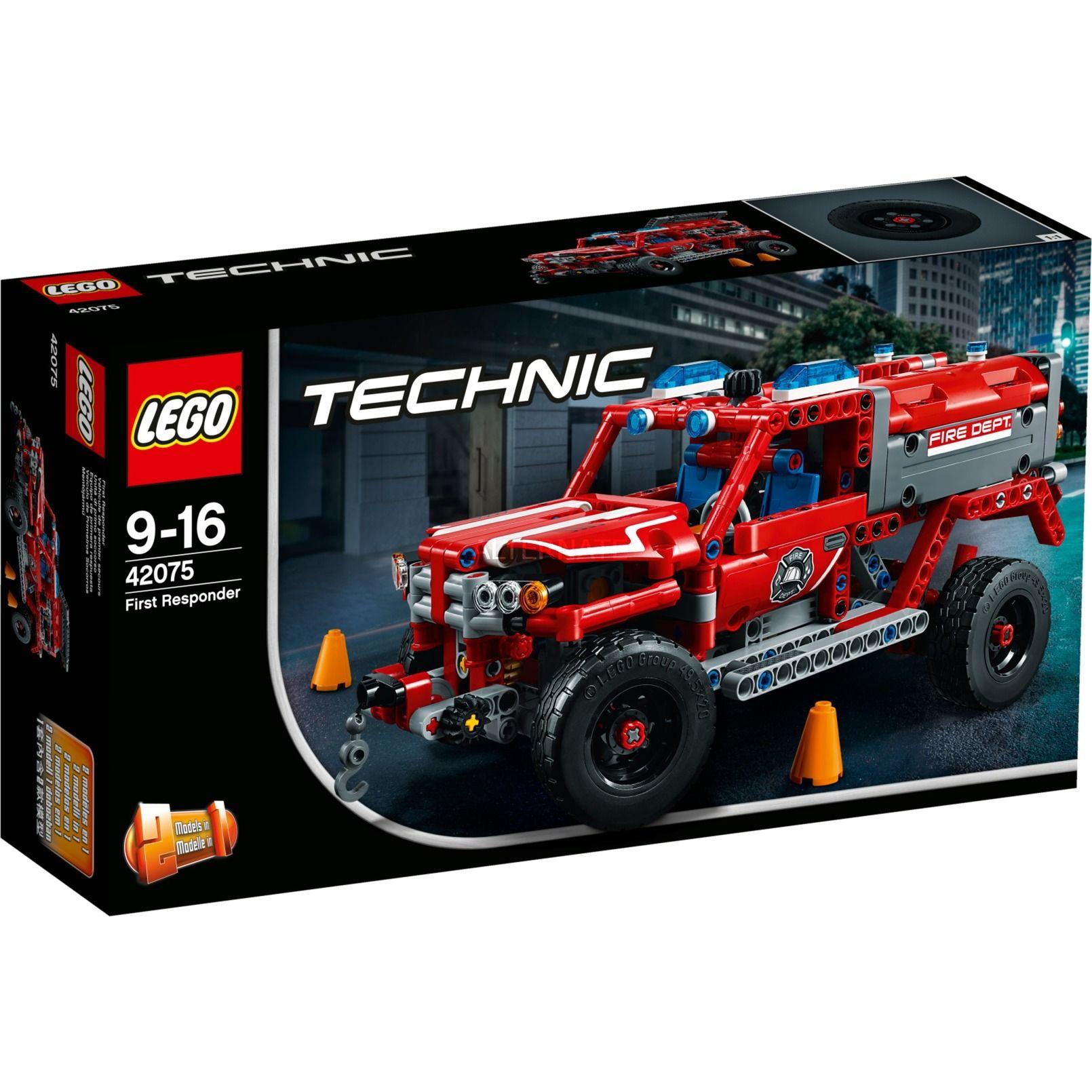 Eile Dem First Responder Zur Brandstatte Dieses 2 In1 Modell Eine Tolle Nachbildung Eines Feuerwehr Suv Verfugt Uber Eine La Lego Feuerwehr Lego Technic Lego