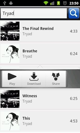 Tunee Music APK is the best app in the market for searching and