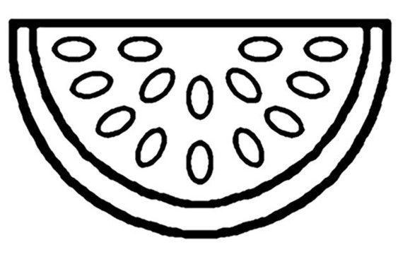 Fruit Coloring Pages Free Watermelon Fruit Coloring Pages Watermelon Fruit Watermelon Printable