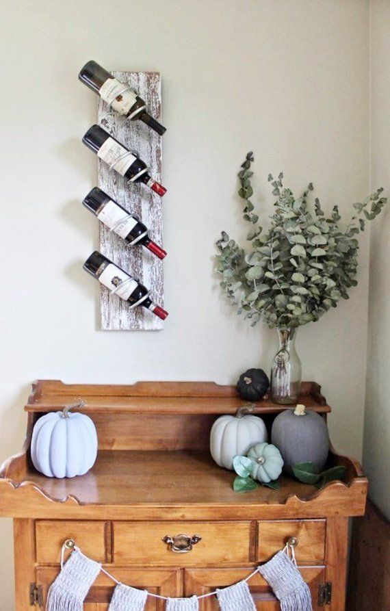 White Wine Rack Distressed Wine Rack Wall Mounted Wine Rack
