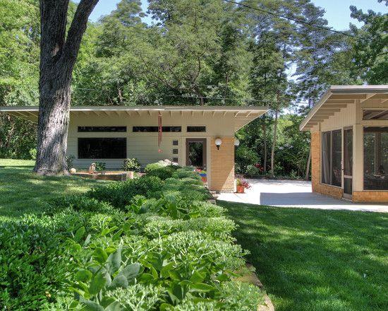 Mid Century Modern Detached Garage Ranch House Designs Garage Door Design Detached Garage Designs