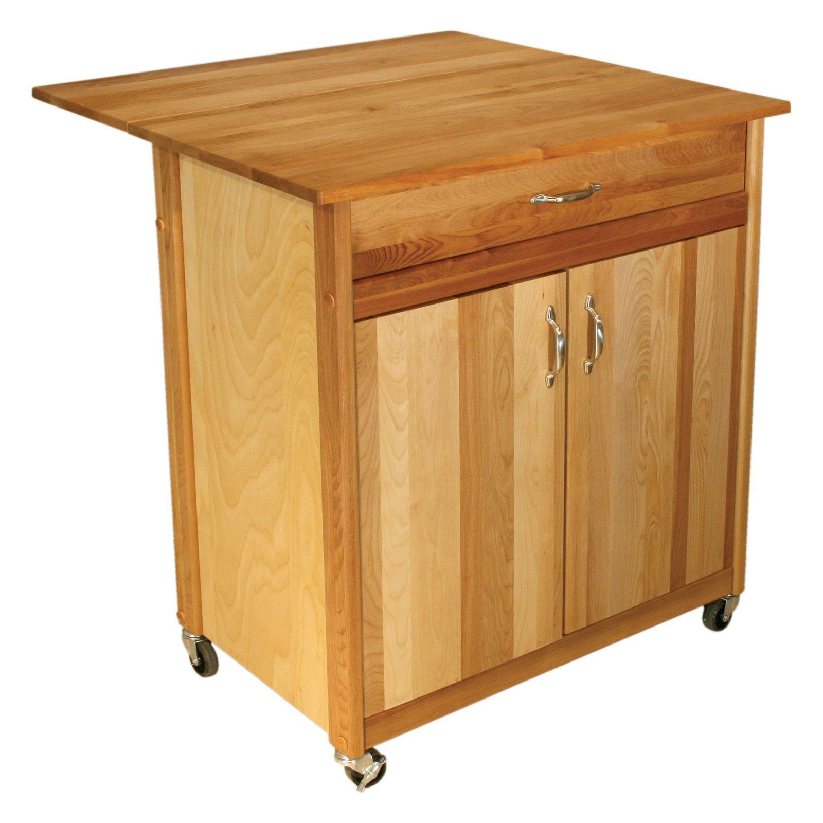 Catskill Mid-Size Two Door Cart with Drop Leaf -  sc 1 st  Pinterest & Have to have it. Catskill Mid-Size Two Door Cart with Drop Leaf ...