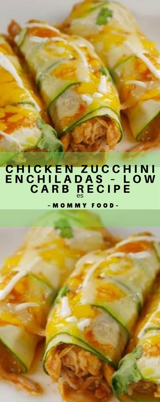 chicken zucchini enchiladas – low carb recipe | Staci Kitchen #chicken #chickenrecipes #chickenfoodrecipes #lowcarb #chickensidedishes