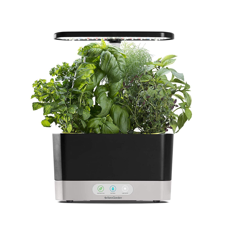 Amazon Com Aerogarden Harvest Black Garden Outdoor 400 x 300
