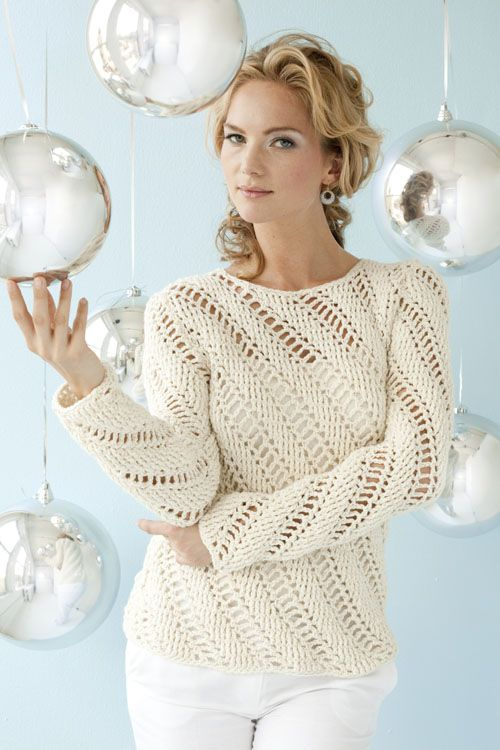 Icicles Pullover | crochet today http://www.demismanostejidos ...