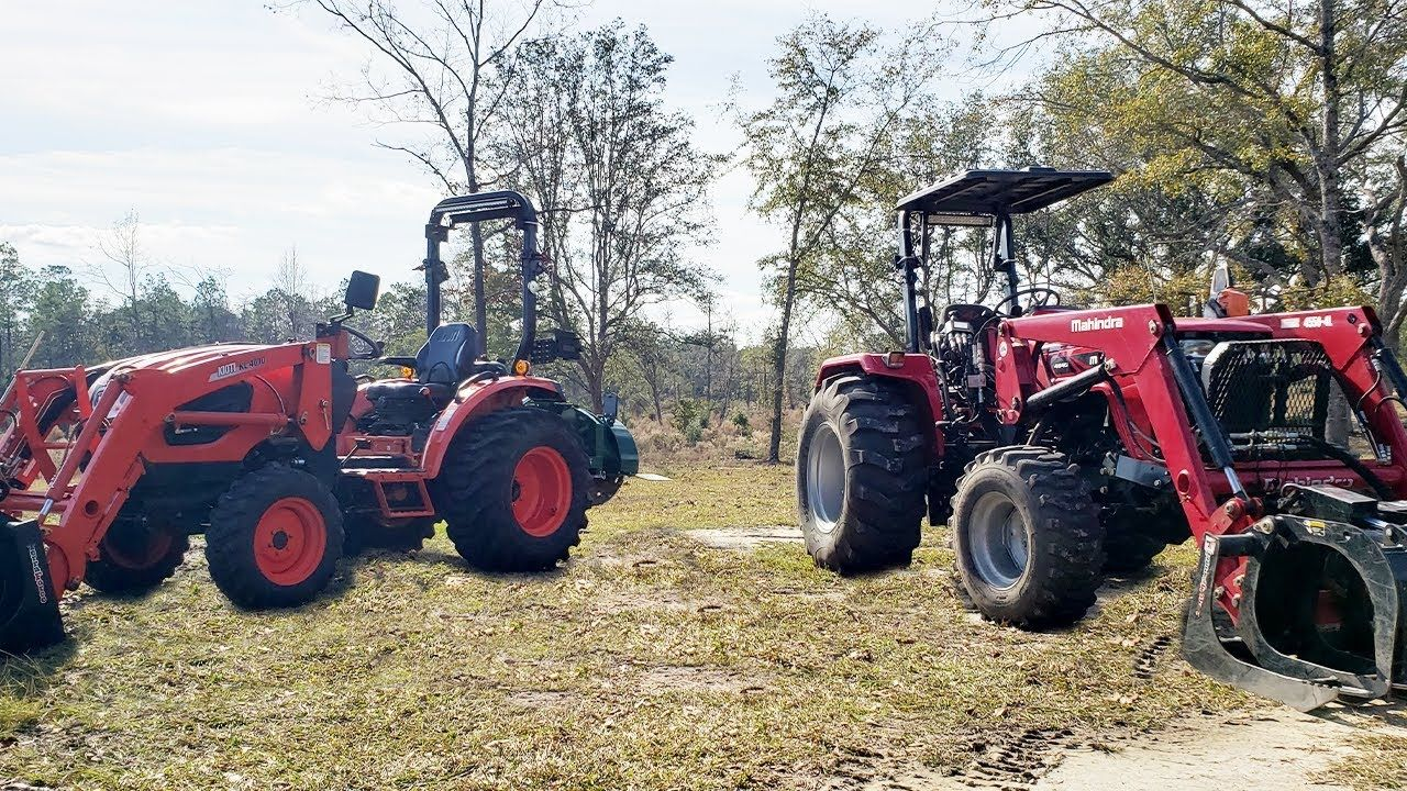We Compare The Kioti Ck4010 To The Mahindra 4540 The Results Will Shock Compact Tractors Tractors Heavy Equipment