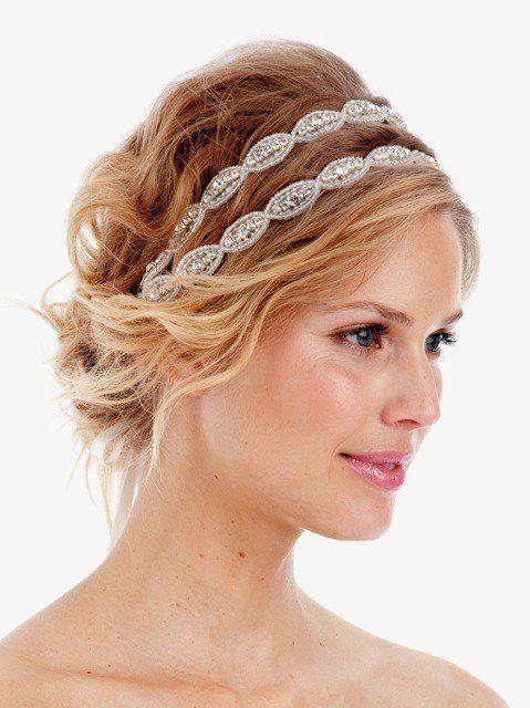 Poppy Double Crystal Headband
