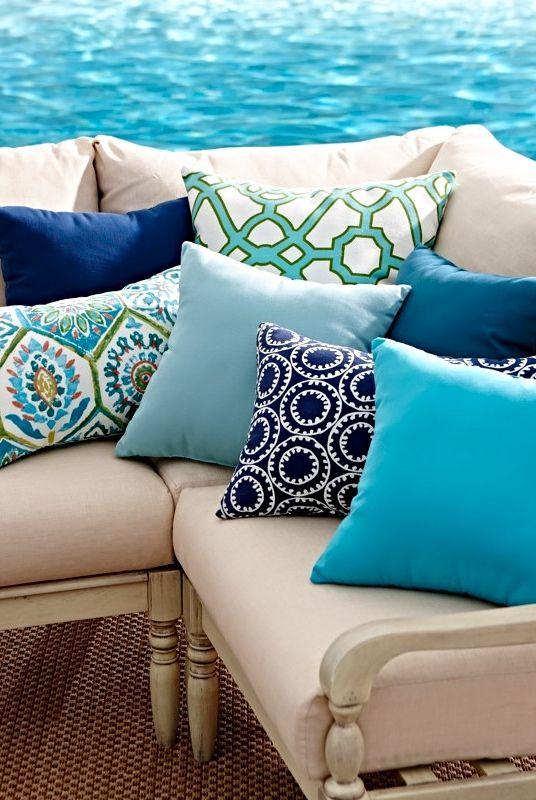 Outdoor Pillows Outdoor Throw Pillows All Weather Pillows Outdoor Pillows Outdoor Cushions Patio Furniture Makeover