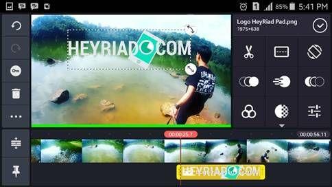 2 Cara Membuat Watermark Video Di Android Smartphone Produk