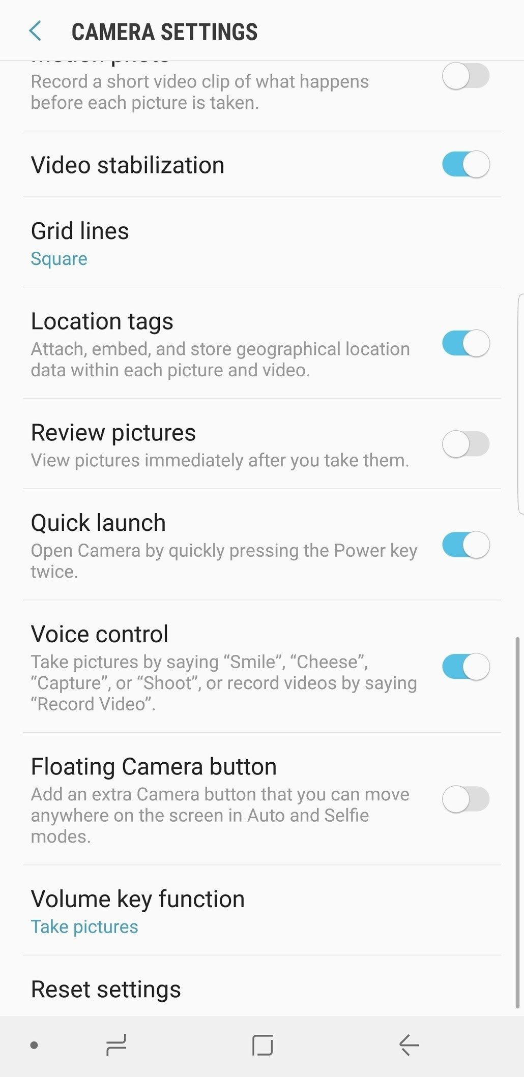 How To Take Pictures On Your Samsung Galaxy S8 S8 And Note 8 With Voice Commands Deteched Samsung Galaxy Galaxy S8 Samsung