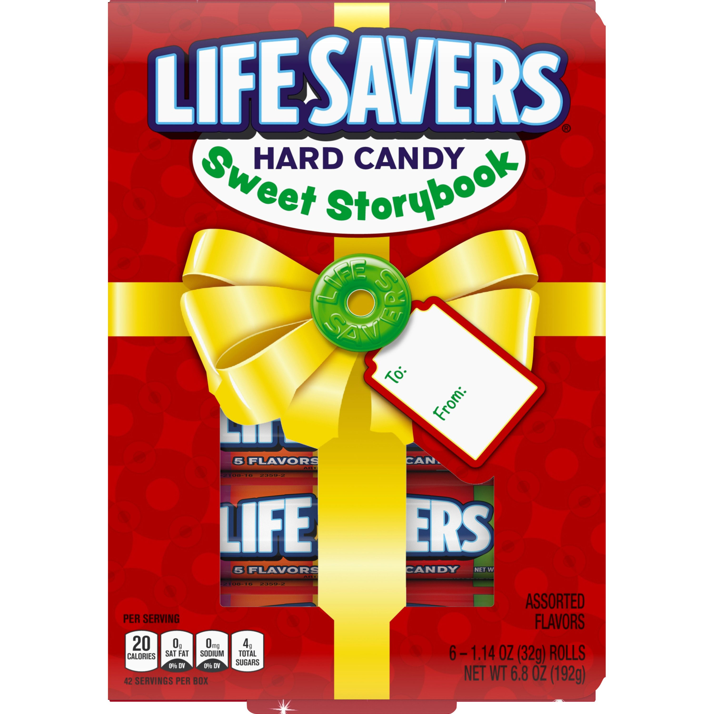 Life Savers 5 Flavors Hard Candy Sweet Storybook Holiday Candy Christmas Storybook 6 Rolls Walmart Com Holiday Candy Christmas Candy Hard Candy